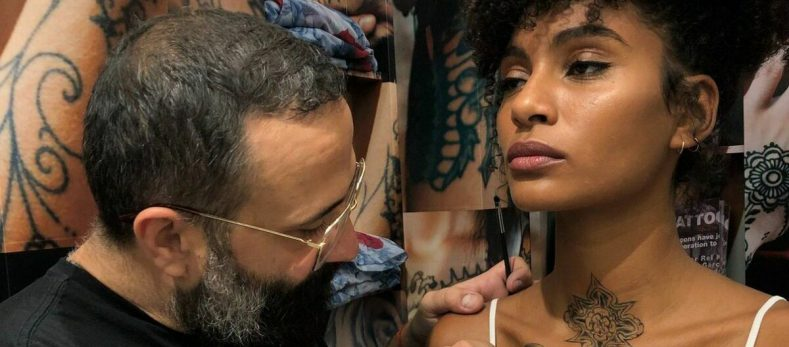 MAC Just Launched a Temporary Tattoo Kit With Comme des Garçons