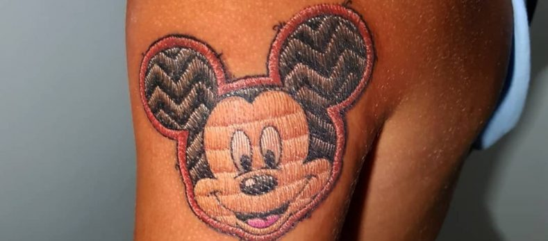 Mickey Mouse tattoos birthday