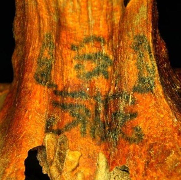 tattoos on Egyptian mummies