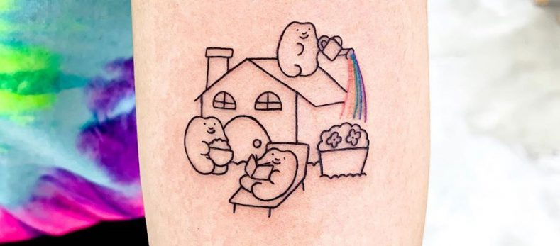 goodmorningtown tattoo