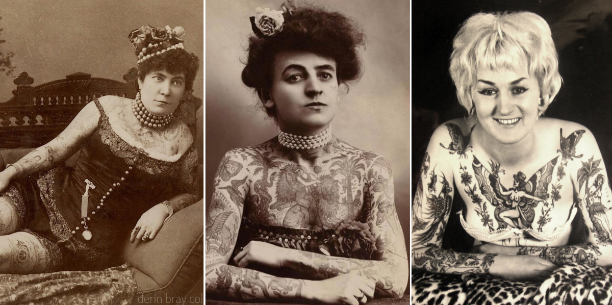 women who shaped the tattoo industry